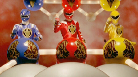 Power Rangers Dino Thunder Netflix